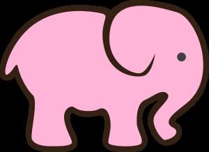 Elefante Cor-de-Rosa