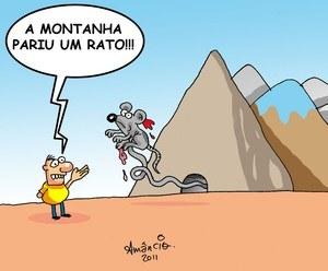 A montanha pariu um rato
